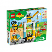 LEGO DUPLO Tower Crane and Construction
