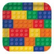 Papptallrikar Lego