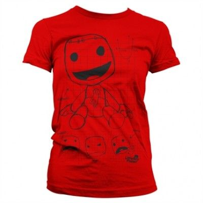 Sackboy Sketch Girly Tee, Girly Tee
