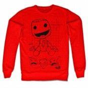 Sackboy Sketch Sweatshirt, Sweatshirt