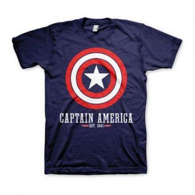 Captain America Logo T-shirt - Small