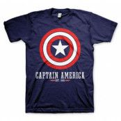 Captain America Logo T-Shirt, Basic Tee
