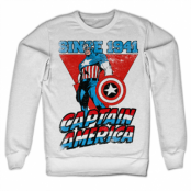 Captain America Since 1941 Sweatshirt, Sweatshirt