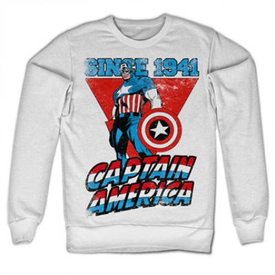 Captain America Since 1941 Sweatshirt, Sweatshirt