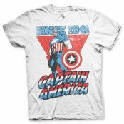 Captain America Since 1941 T-Shirt, Basic Tee