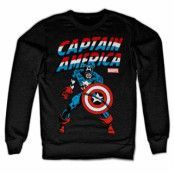 Captain America Sweatshirt, Sweatshirt