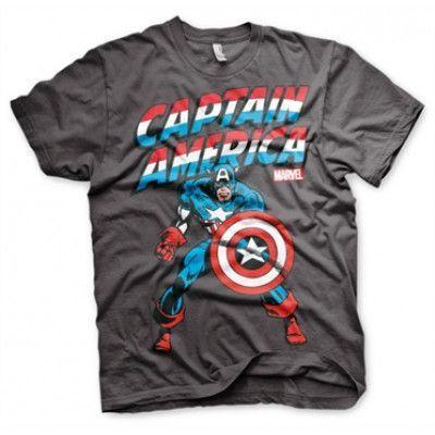 Captain America T-Shirt, Basic Tee