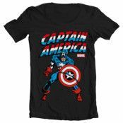 Captain America Wide Neck Tee, Wide Neck T-Shirt