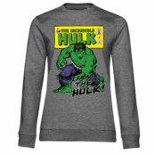 I Am The Hulk Girly Sweatshirt, Girly Sweatshirt