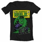 I Am The Hulk Wide Neck Tee, Wide Neck T-Shirt