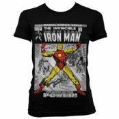 Iron Man Cover Girly T-Shirt, Girly T-Shirt