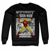 Iron Man Cover Sweatshirt, Sweatshirt