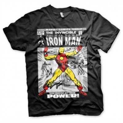 Iron Man Cover T-Shirt, Basic Tee