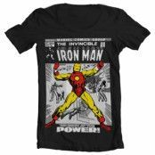 Iron Man Cover Wide Neck Tee, Wide Neck T-Shirt