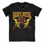 Iron Man Likes Heavy Metal V-Neck Tee, V-Neck T-Shirt