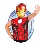 Licensierad Marvel Iron Man Dräkt till Barn - Strl 3-6 ÅR