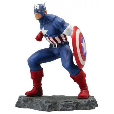 Marvel - Captain America Civil War Statue - 1/8