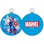 Marvel - Captain America Snow Ornament