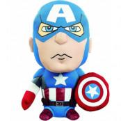 Marvel - Captain America Talking Plush - 20 cm