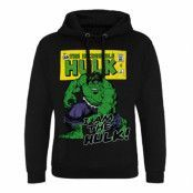 Marvel Comics - Distressed I Am The Hulk Epic Hoodie, Epic Hooded Pullover