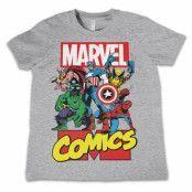 Marvel Comics Heroes Kids T-Shirt, Kids T-Shirt