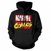 Marvel Comics Retro Logo Hoodie, Hooded Pullover