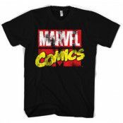 Marvel Comics Retro Logo T-Shirt, Basic Tee