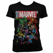 Marvel Comics - Team-Up Girly T-Shirt