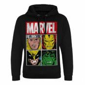 Marvel Distressed Characters Epic Hoodie, Epic Hooded Pullover