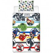 Marvel - Duvet Set Reversible Avengers - 135 x 200 cm