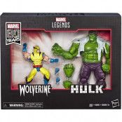 Marvel Legends - 80th Anniversary Hulk and Wolverine