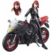 Marvel Legends - Black Widow with Motorcycle