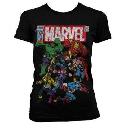 Marvel Team-Up Girly Tee, Girly Tee