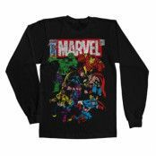 Marvel Team-Up Long Sleeve Tee, Long Sleeve T-Shirt