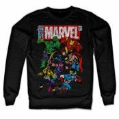 Marvel Team-Up Sweatshirt, Sweatshirt
