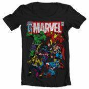 Marvel Team-Up Wide Neck Tee, Wide Neck Tee