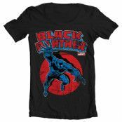 Marvels Black Panther Wide Neck Tee, Wide Neck Tee