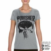 Marvel's The Punisher Big Skull Performance Girly Tee, CORE PERFORMANCE GIRLY TEE