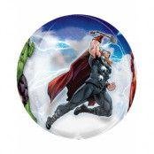 Orbz / Ballongbubbla 40 cm - Marvel Avengers Assemble