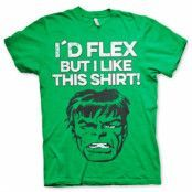 The Hulk - I´d Flex T-Shirt, Basic Tee