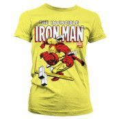 The Invincible Iron Man Girly T-Shirt, Girly T-Shirt