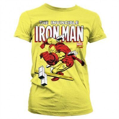 The Invincible Iron Man Girly T-Shirt, Girly T-Shirt