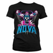 The Man Called Nova Girly T-Shirt, Girly Tee