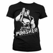 The Punisher Character Girly T-Shirt, Girly T-Shirt
