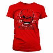 The Red Skull Girly T-Shirt, Girly Tee