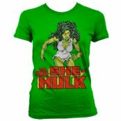 The She-Hulk Girly T-Shirt, Girly Tee
