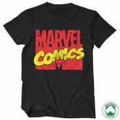 Vintage Marvel Comics Logo Organic T-Shirt, 100% Organic T-Shirt