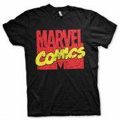 Vintage Marvel Comics Logo T-Shirt, Basic Tee