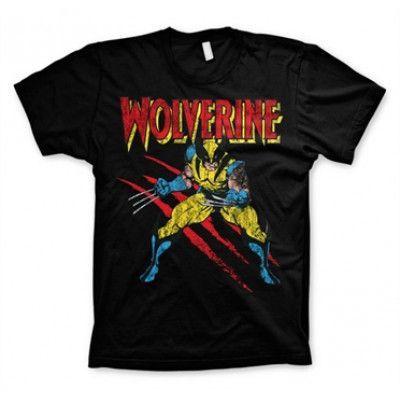 Wolverine Scratches T-Shirt, Basic Tee
