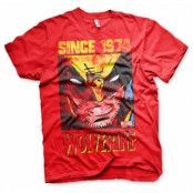 Wolverine Since 1974 T-Shirt, Basic Tee